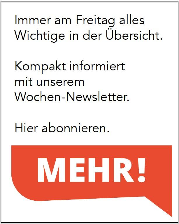 Ostschweiz Newsletter