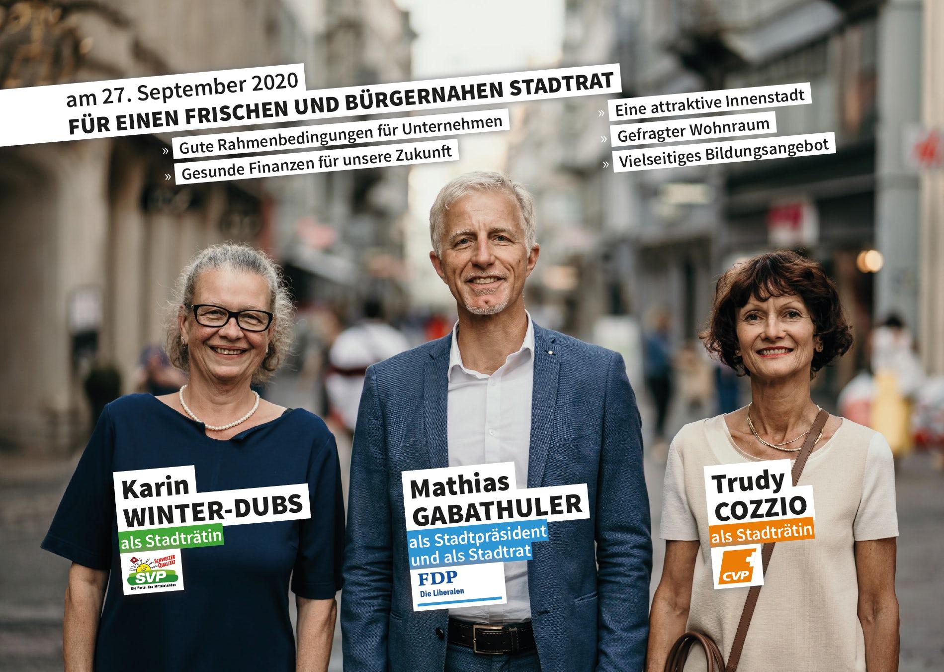 Bürgerliche Allianz 14.9. bis 27.9.