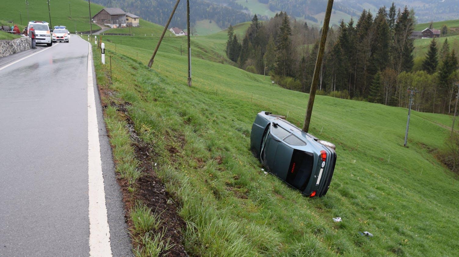 Unfall Urnäsch