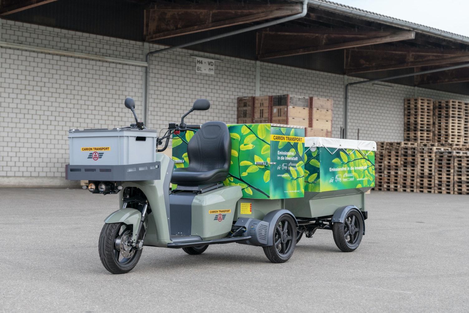 Cargo eScooter