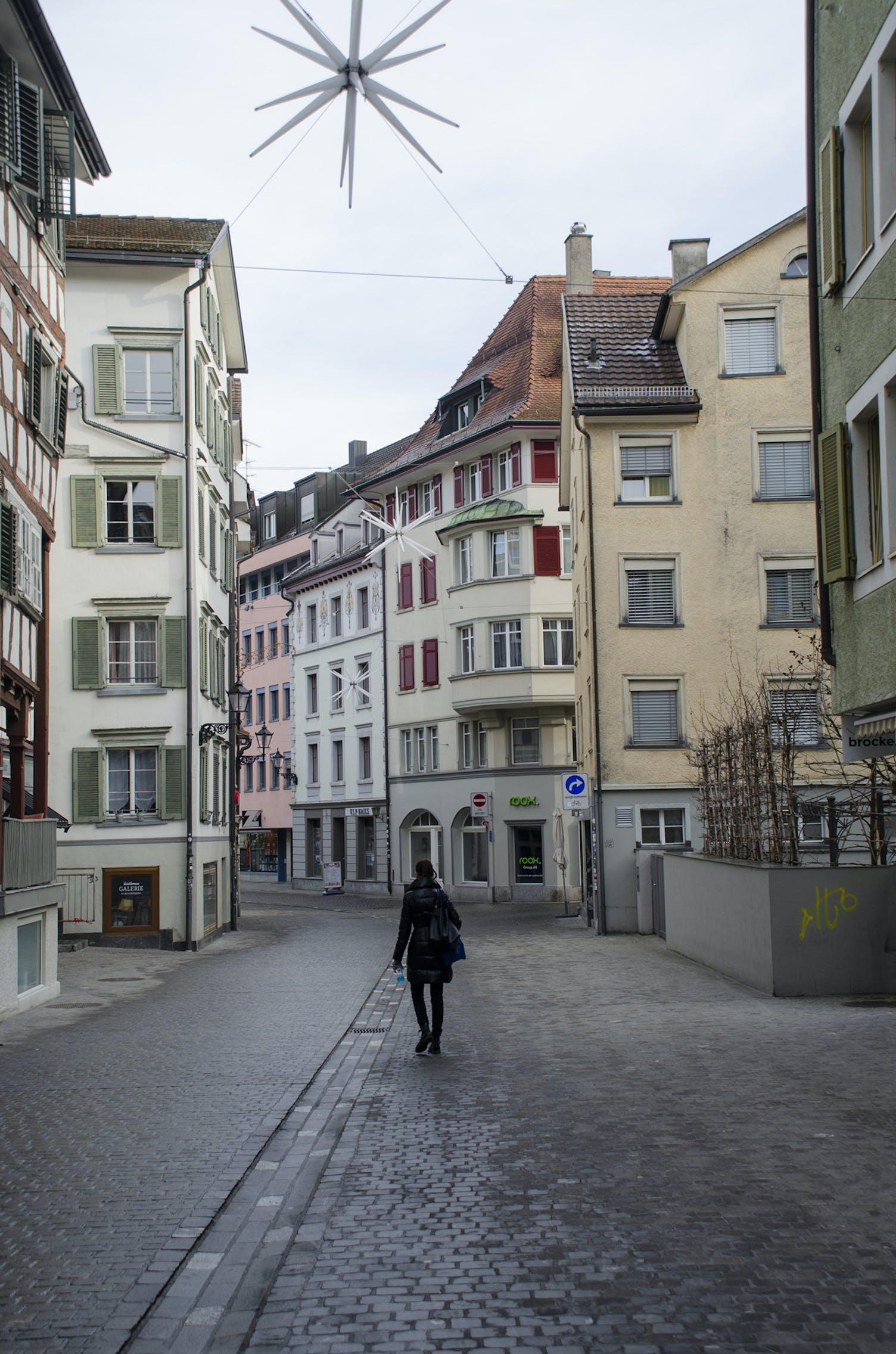 St. Mangen Quartier