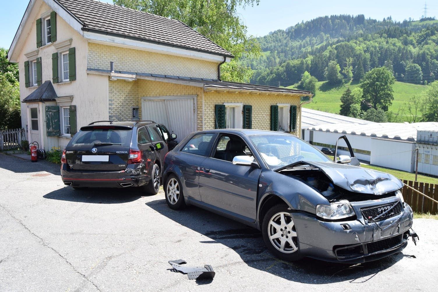 Unfall Bühler