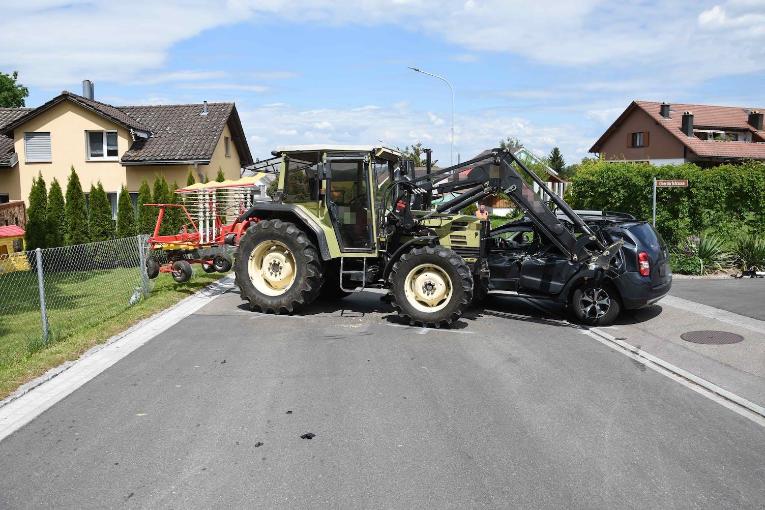 Unfall Niederbüren