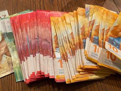 Geld Geldnoten