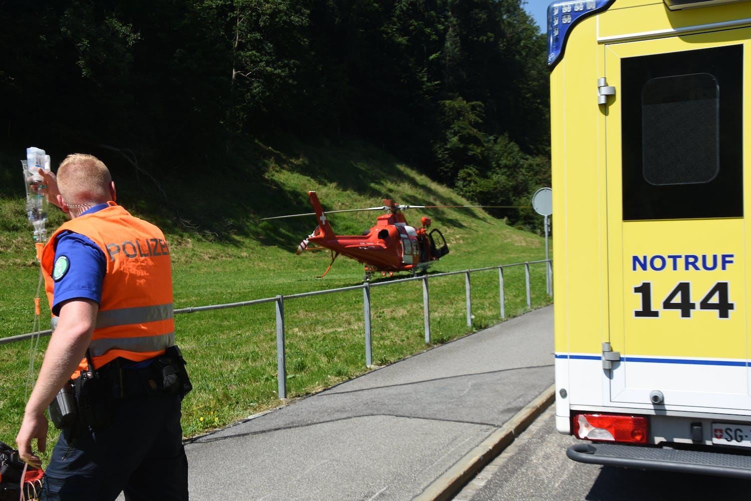 Unfall Oberriet