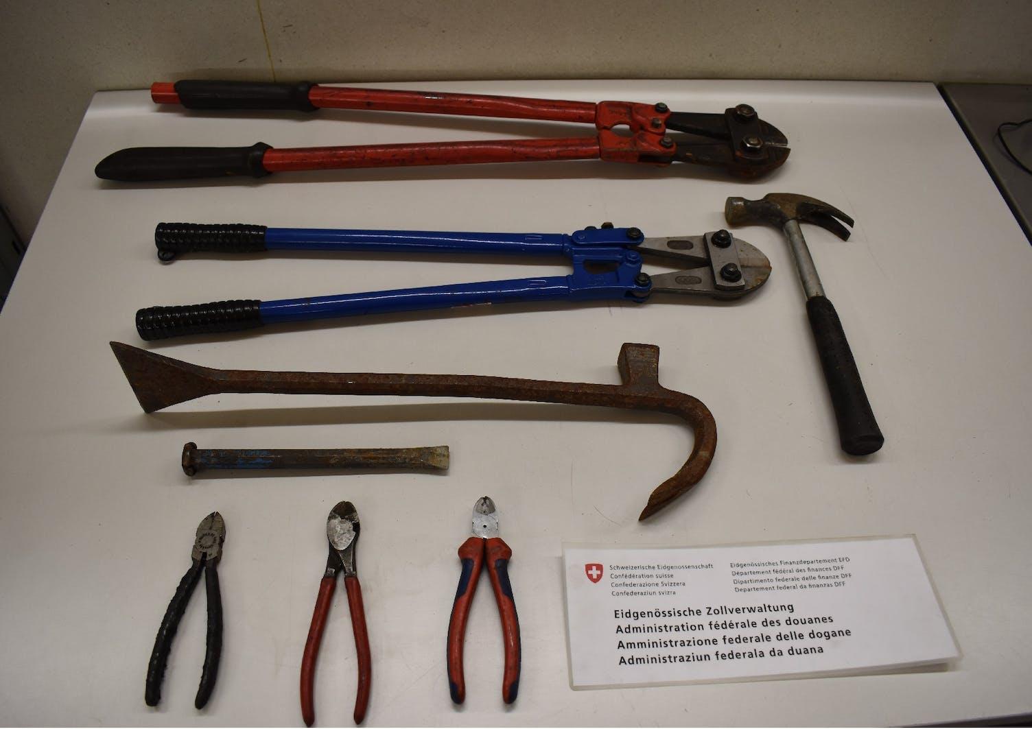 Einbruch Werkzeug