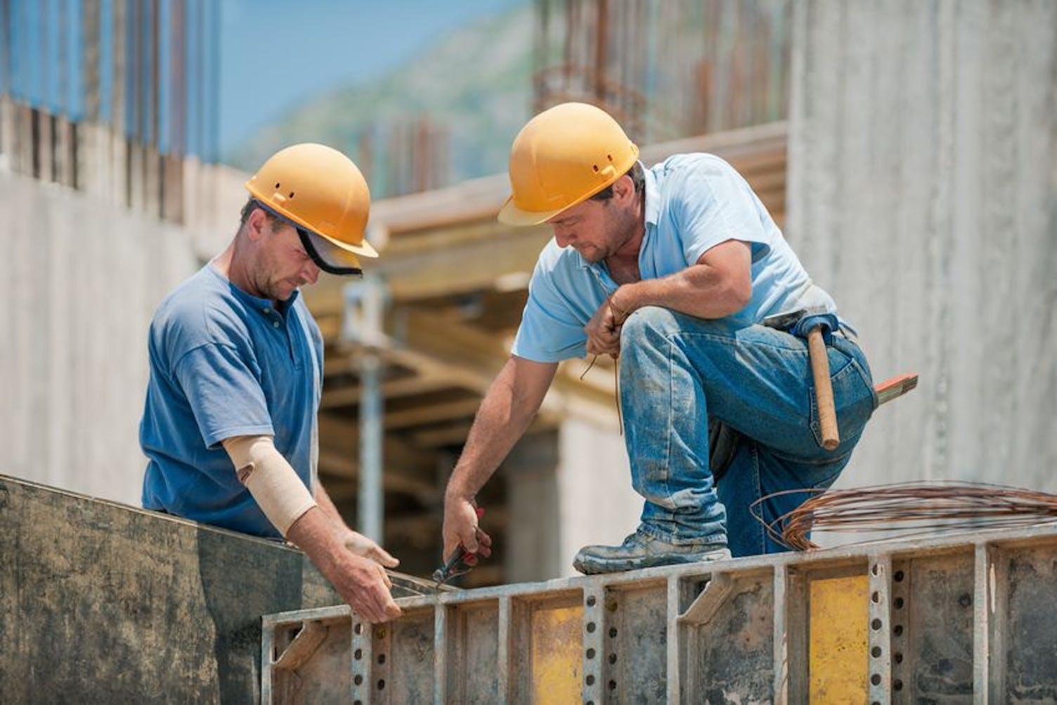 Bau Arbeiter