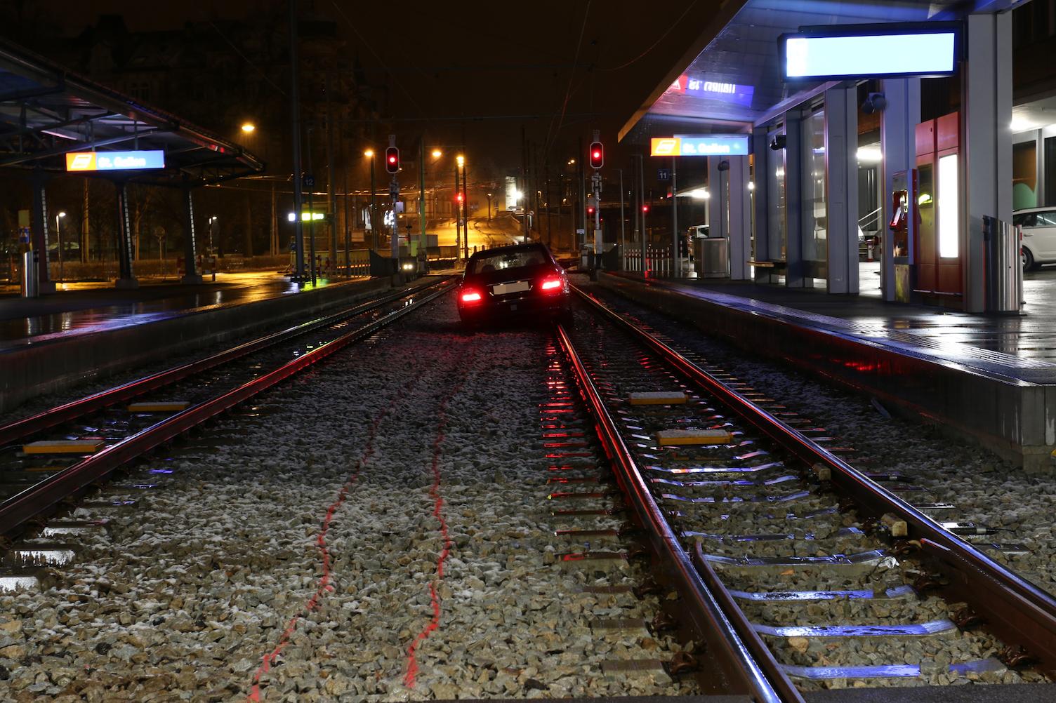 Auto Gleis