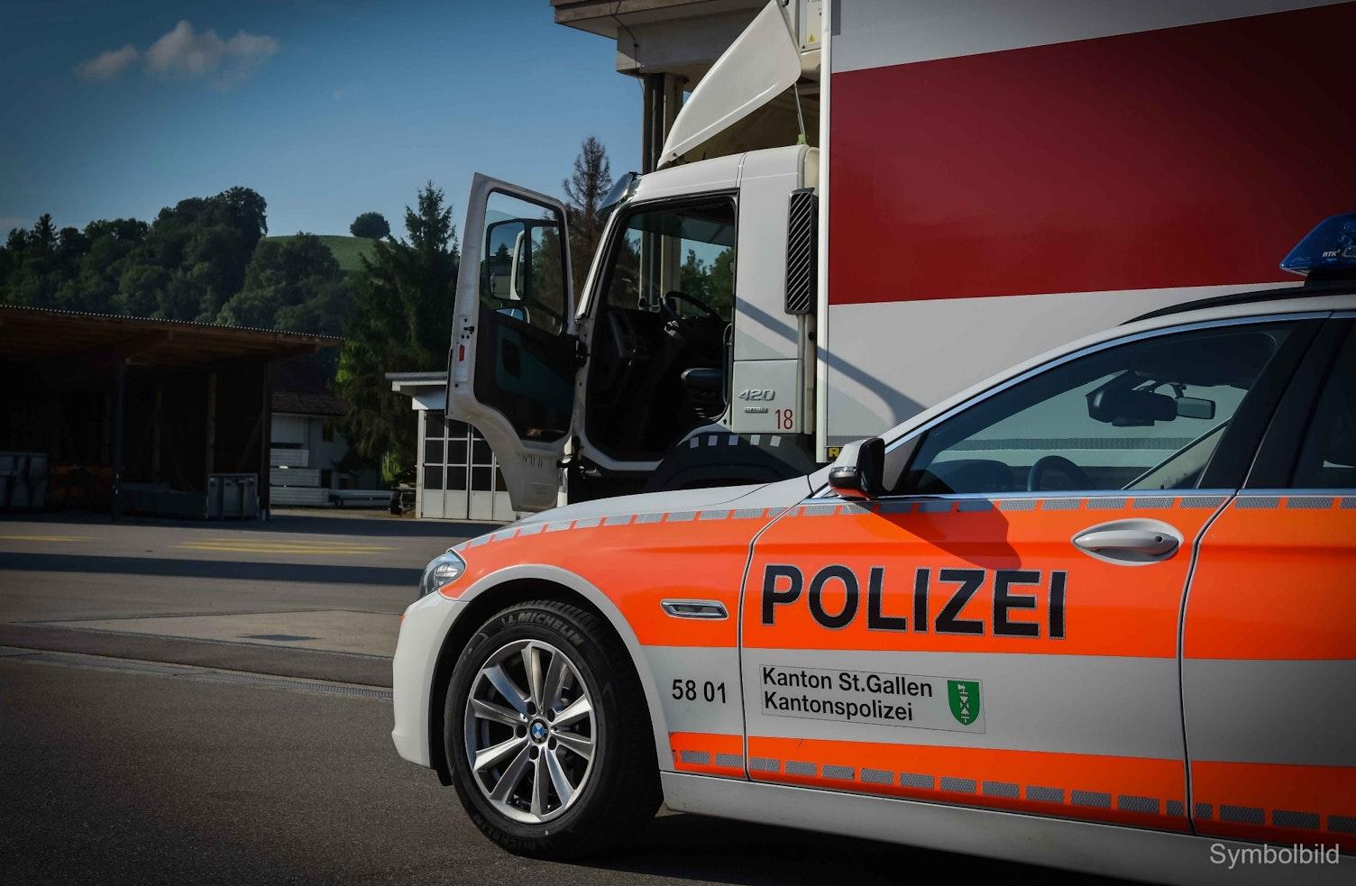 LKW Polizei