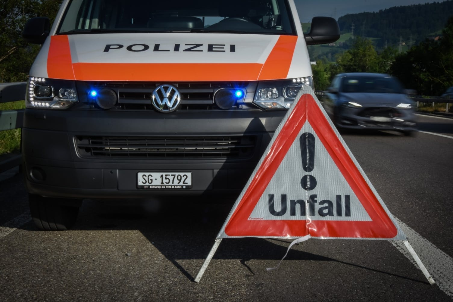 Unfall St.Margrethen