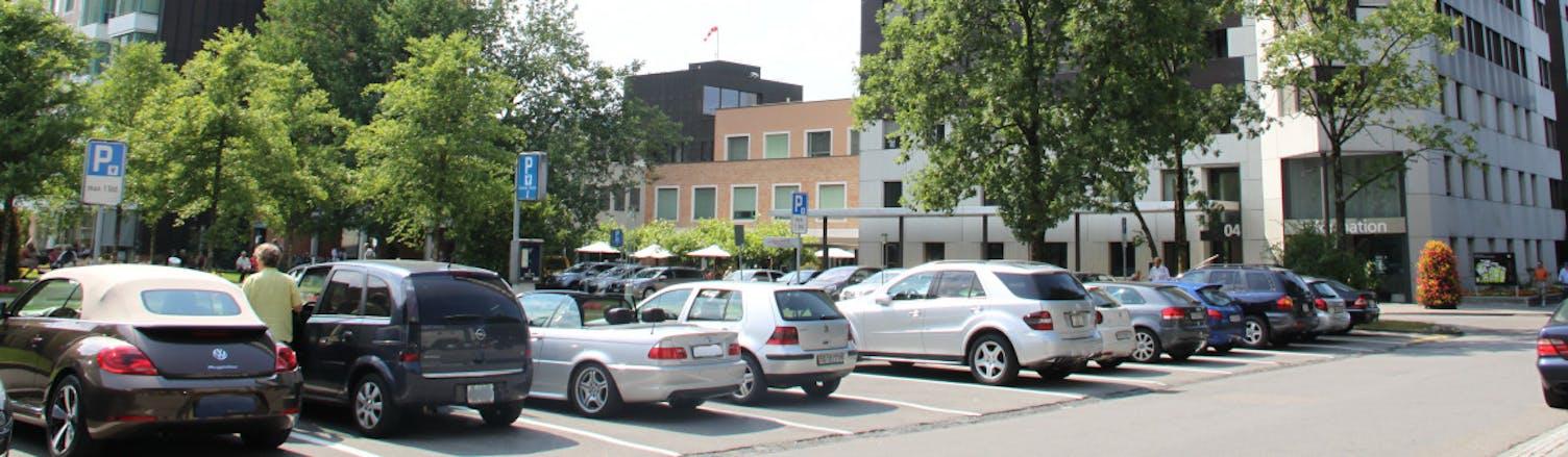 KSSG Parkplätze
