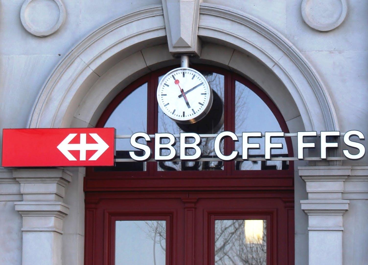 SBB Zug Bahn