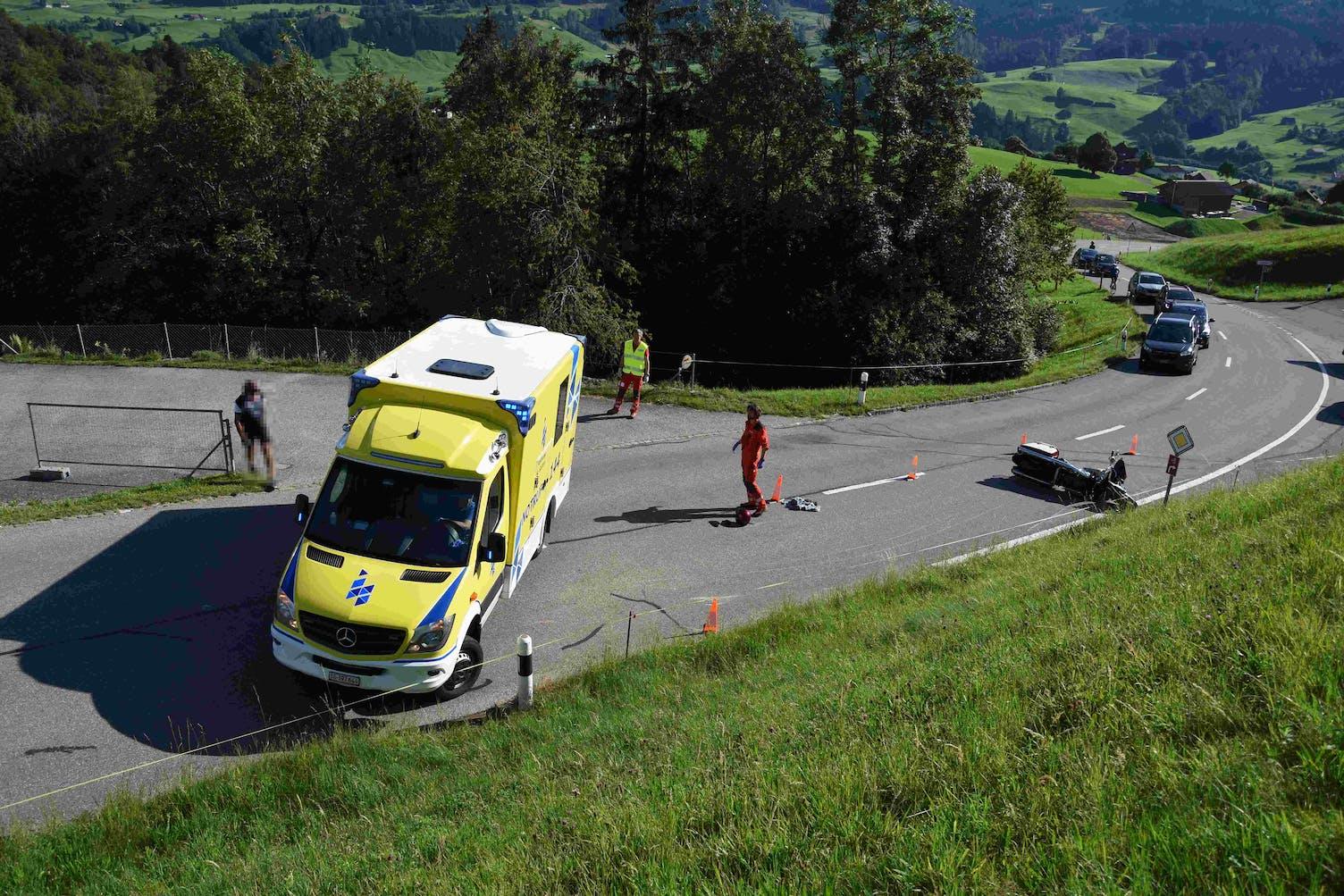 Ennetbühl Unfall