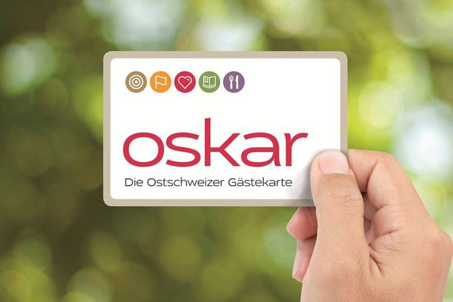 Oskar Gästekarte