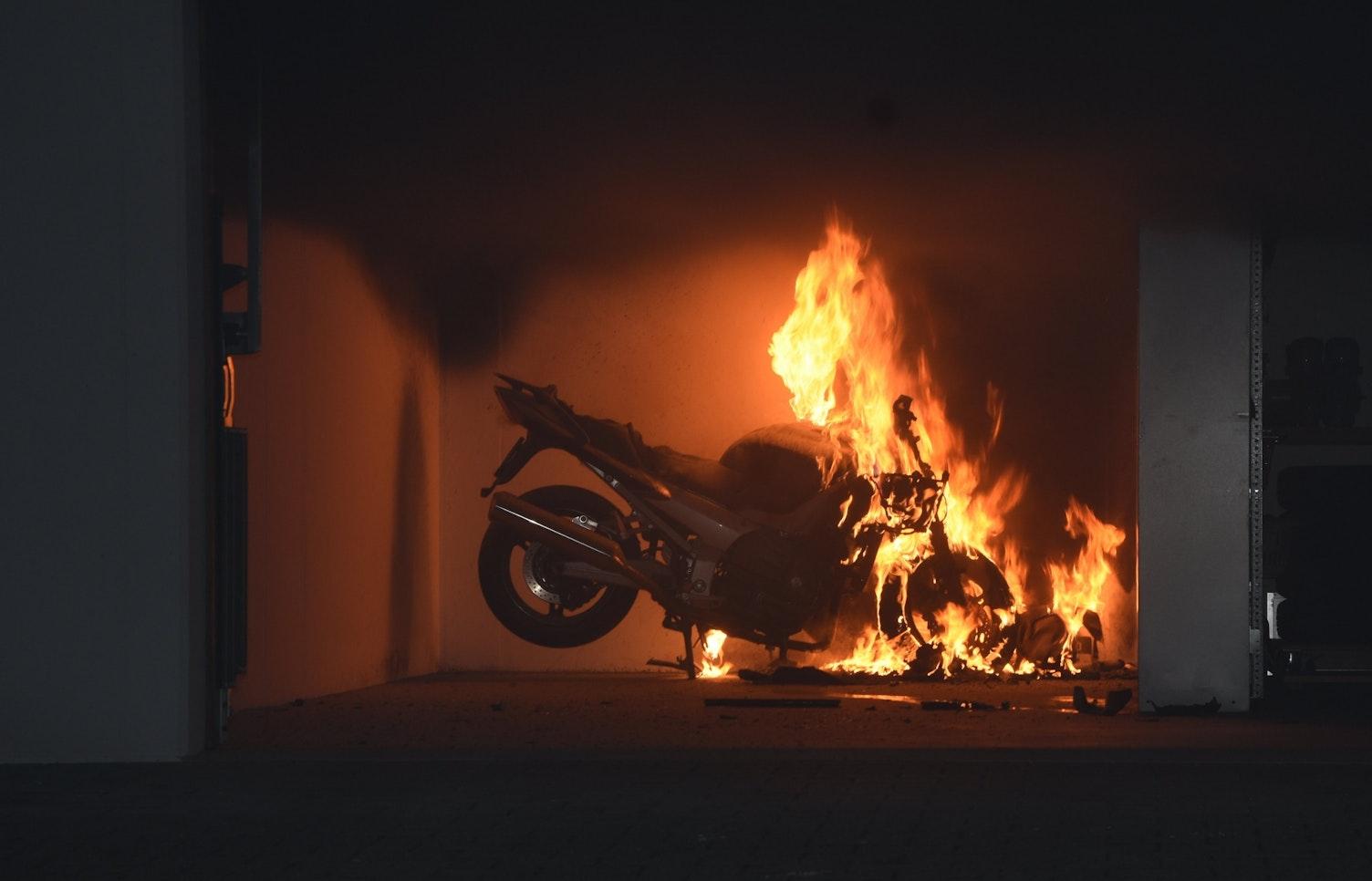 Motorradbrand