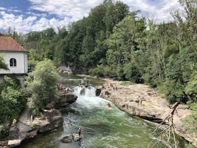 Wasserfall Thur