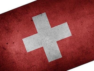 Schweiz Flagge Fahne