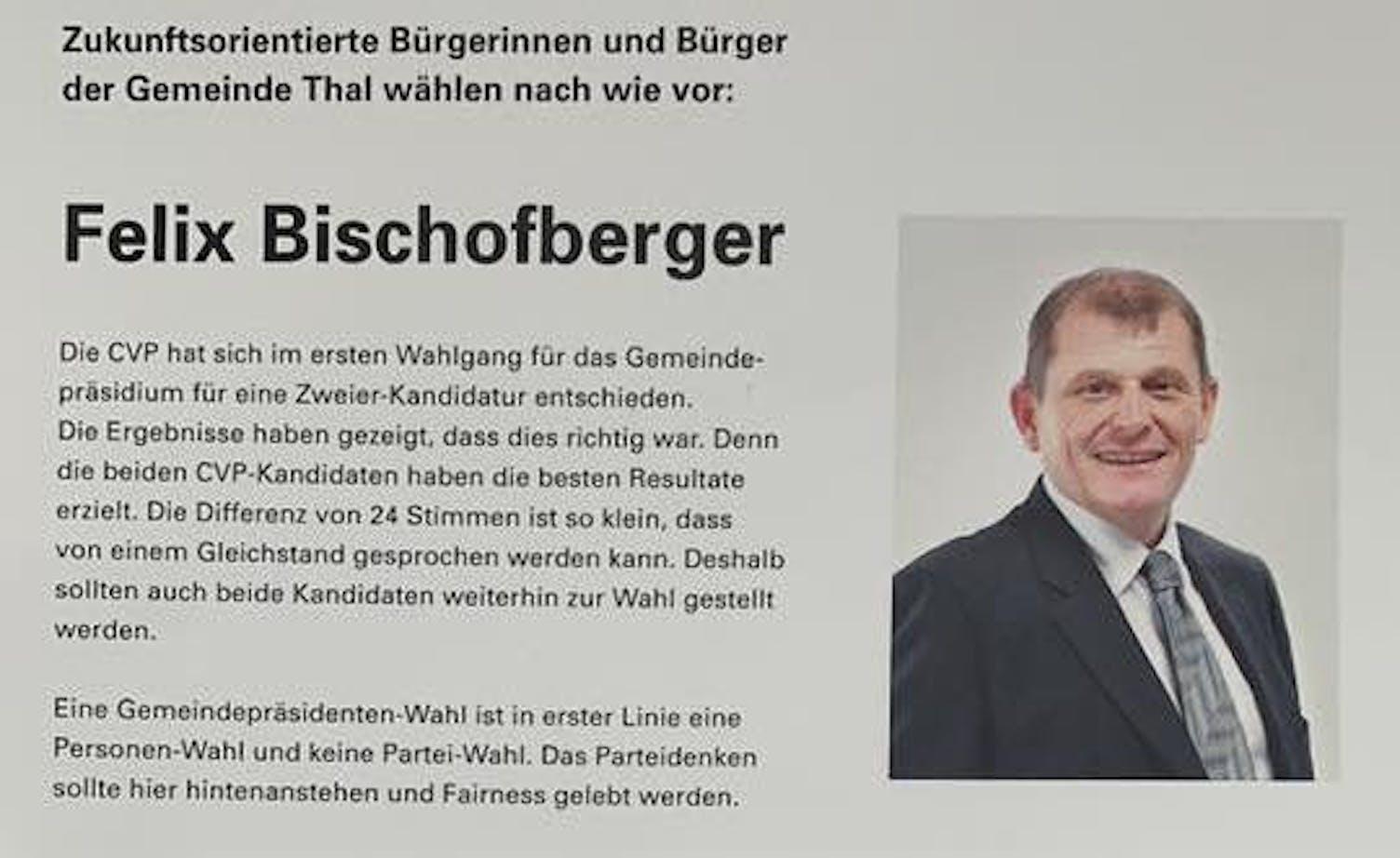 Felix Bischofberger