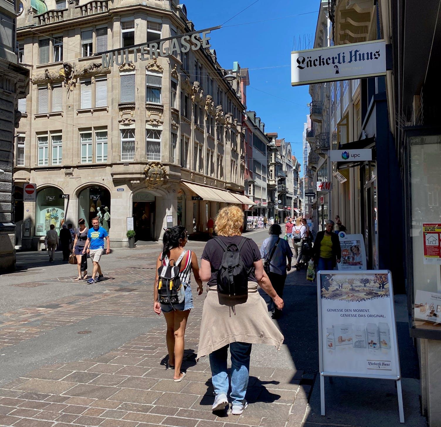 Innenstadt St.Gallen