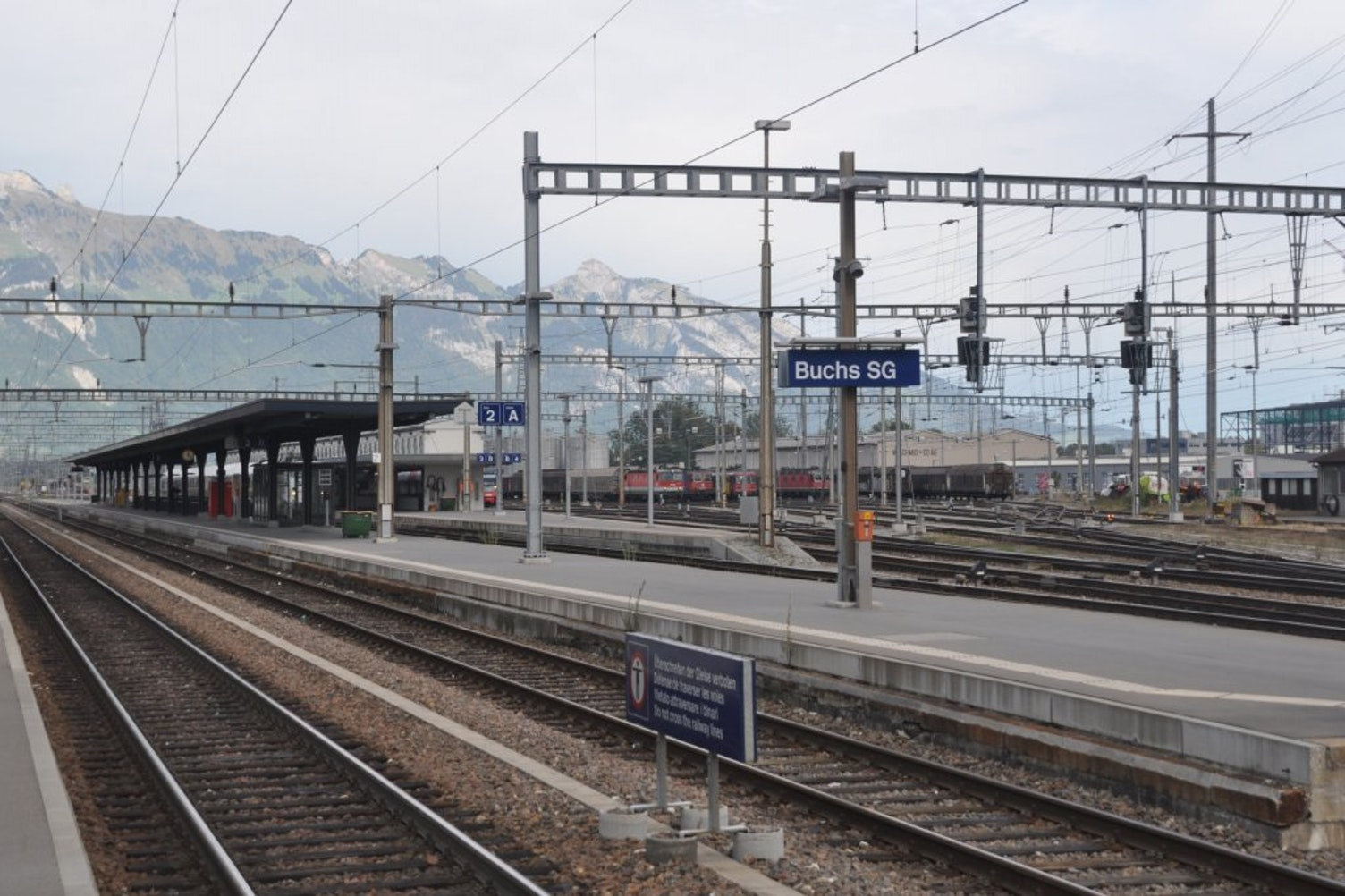 Bahnhof Buchs