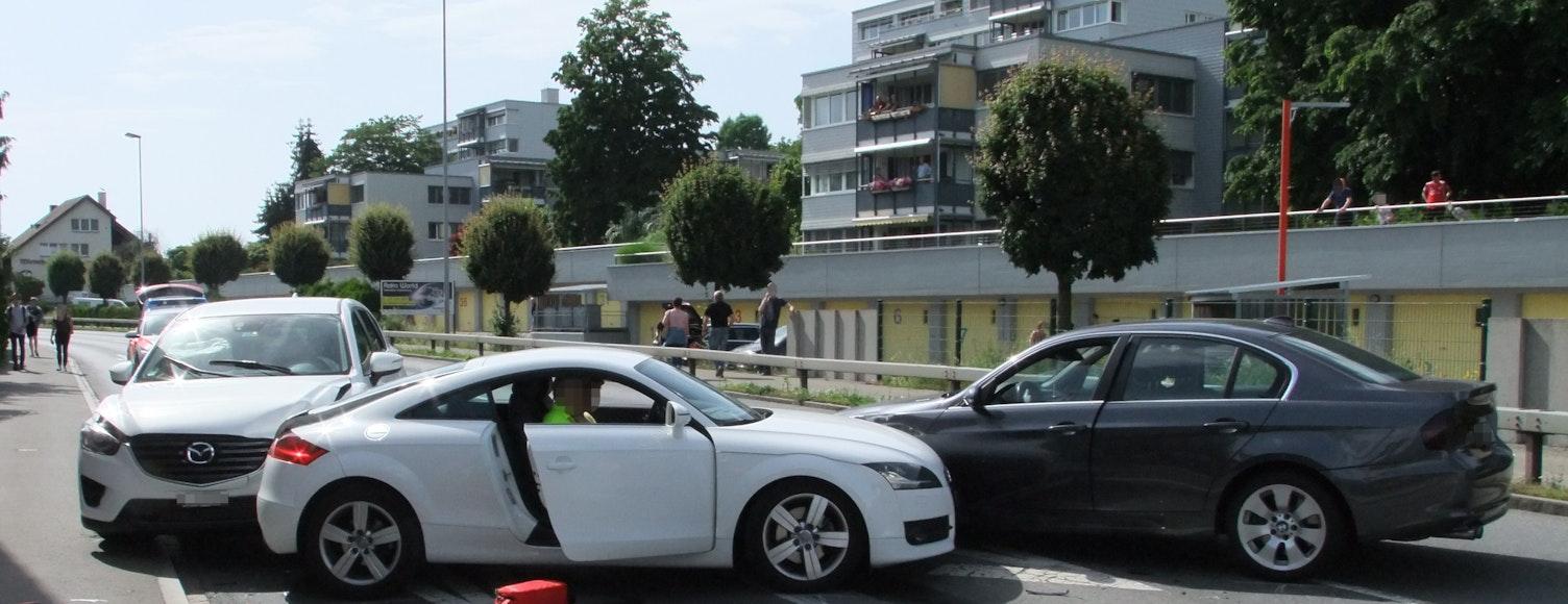 Unfall Rapperswil