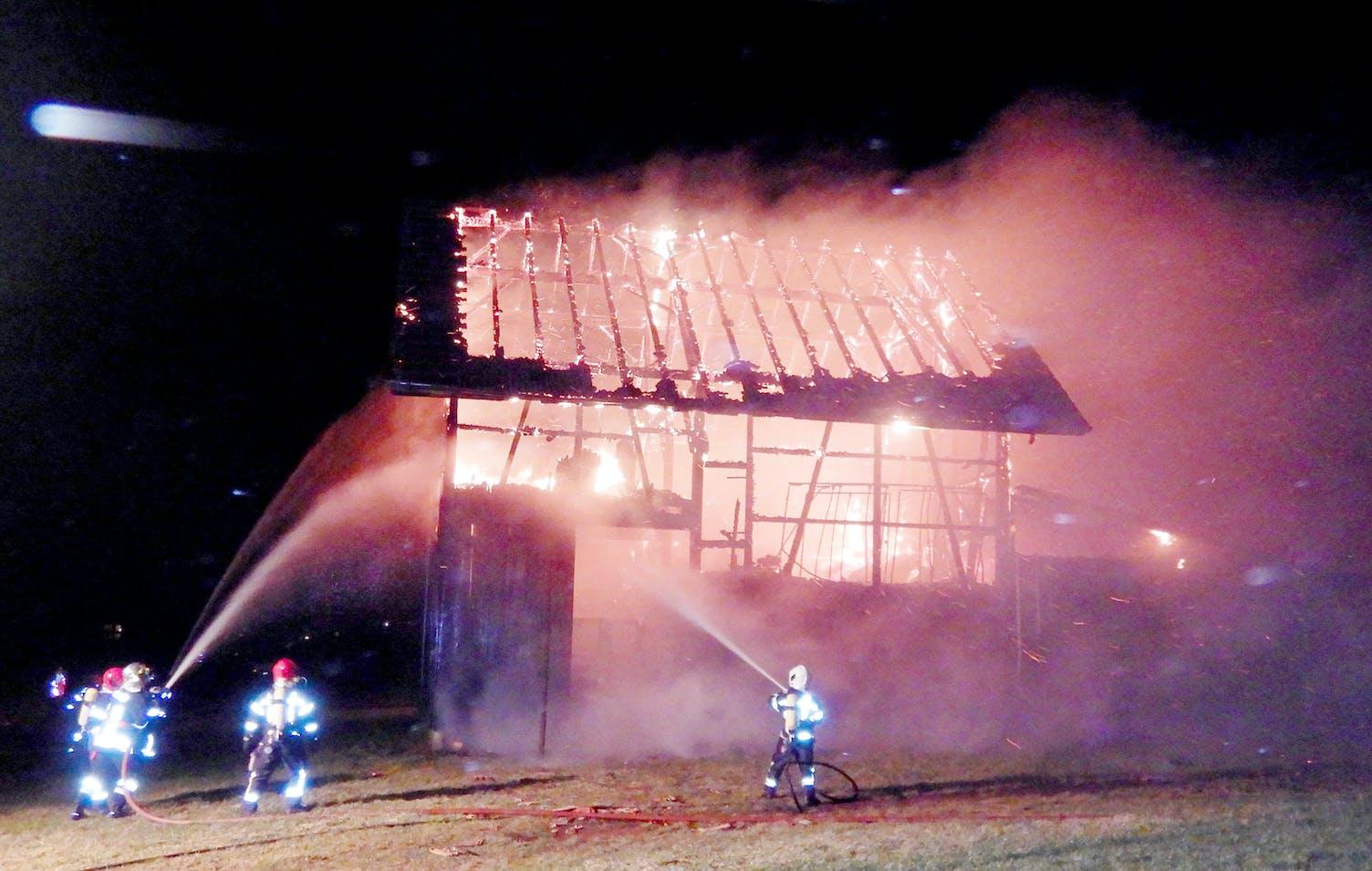 Siegershausen Brand