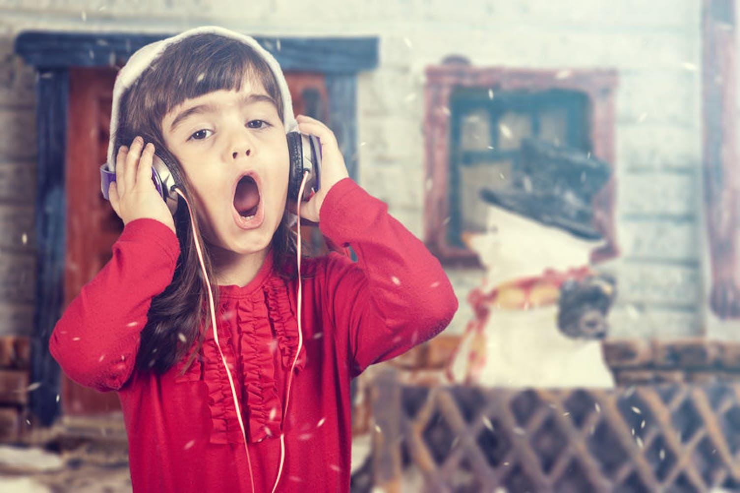 Kind singt