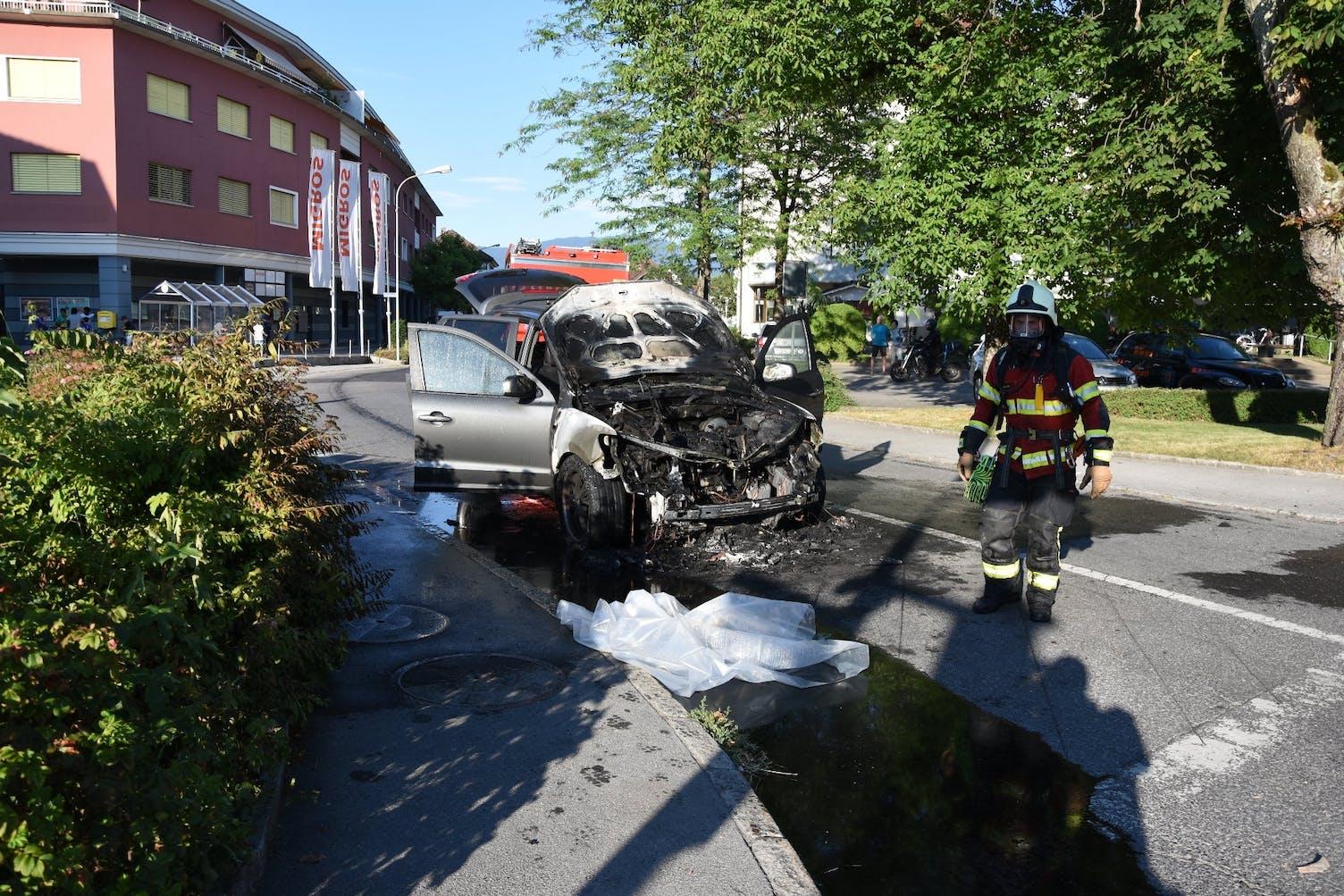 Diepoldsau Autobrand