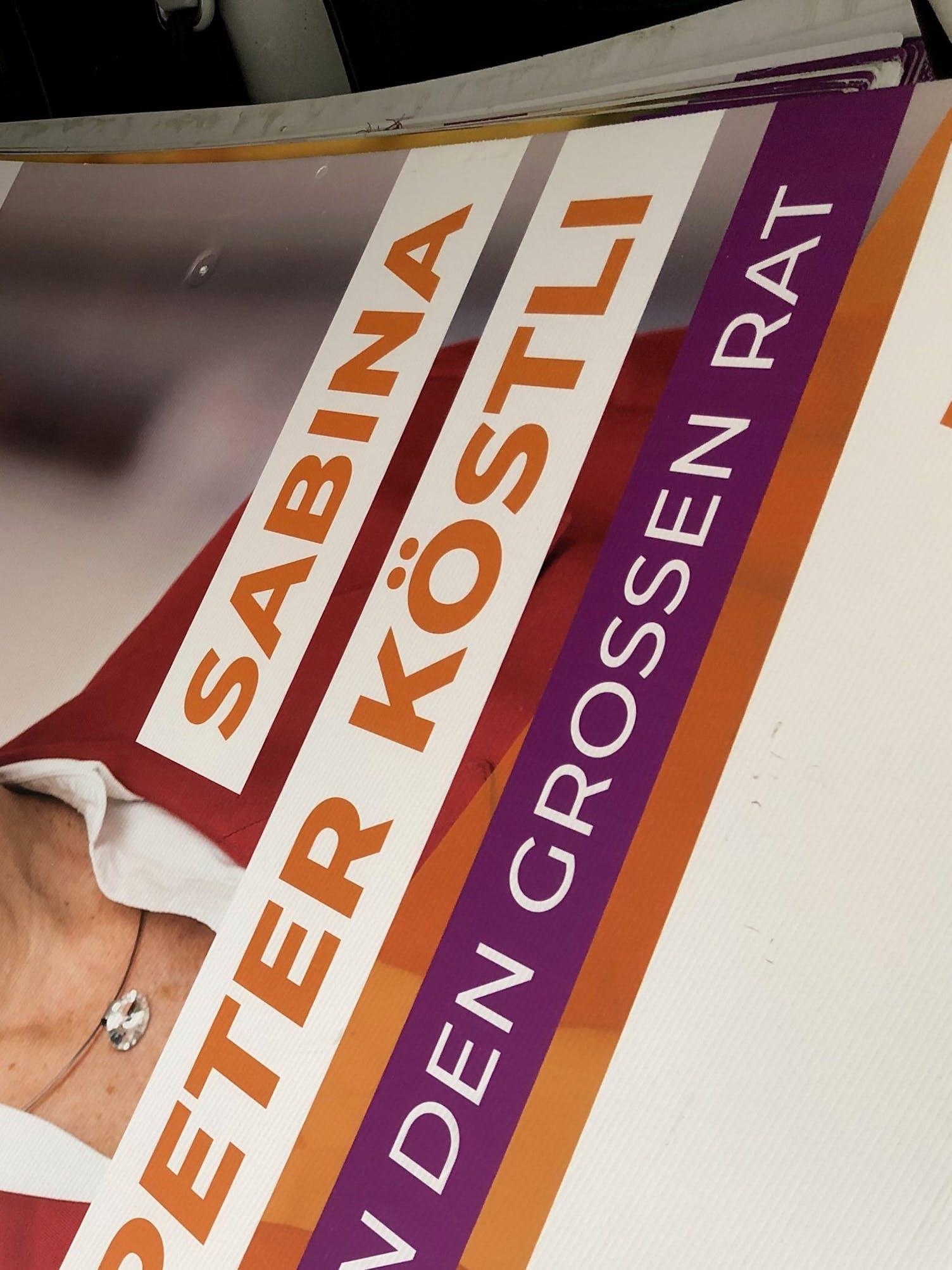 Wahlplakate Thurgau