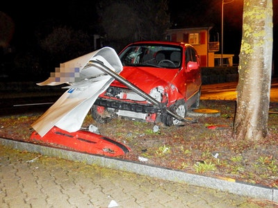 Unfall Amriswil