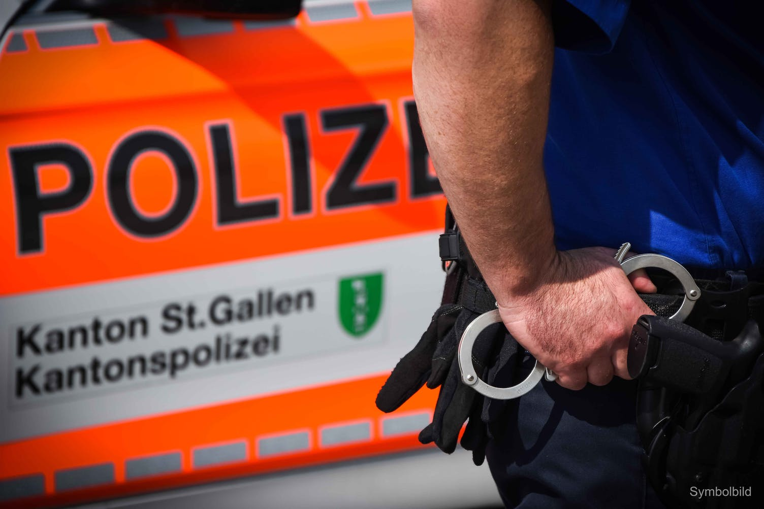 Polizei Festnahme