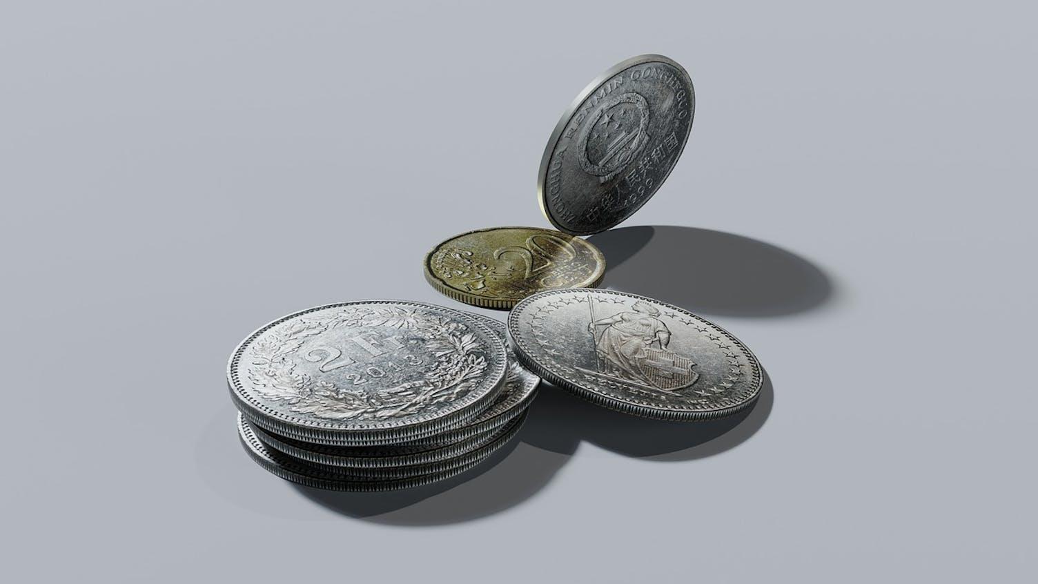 Geld Franken