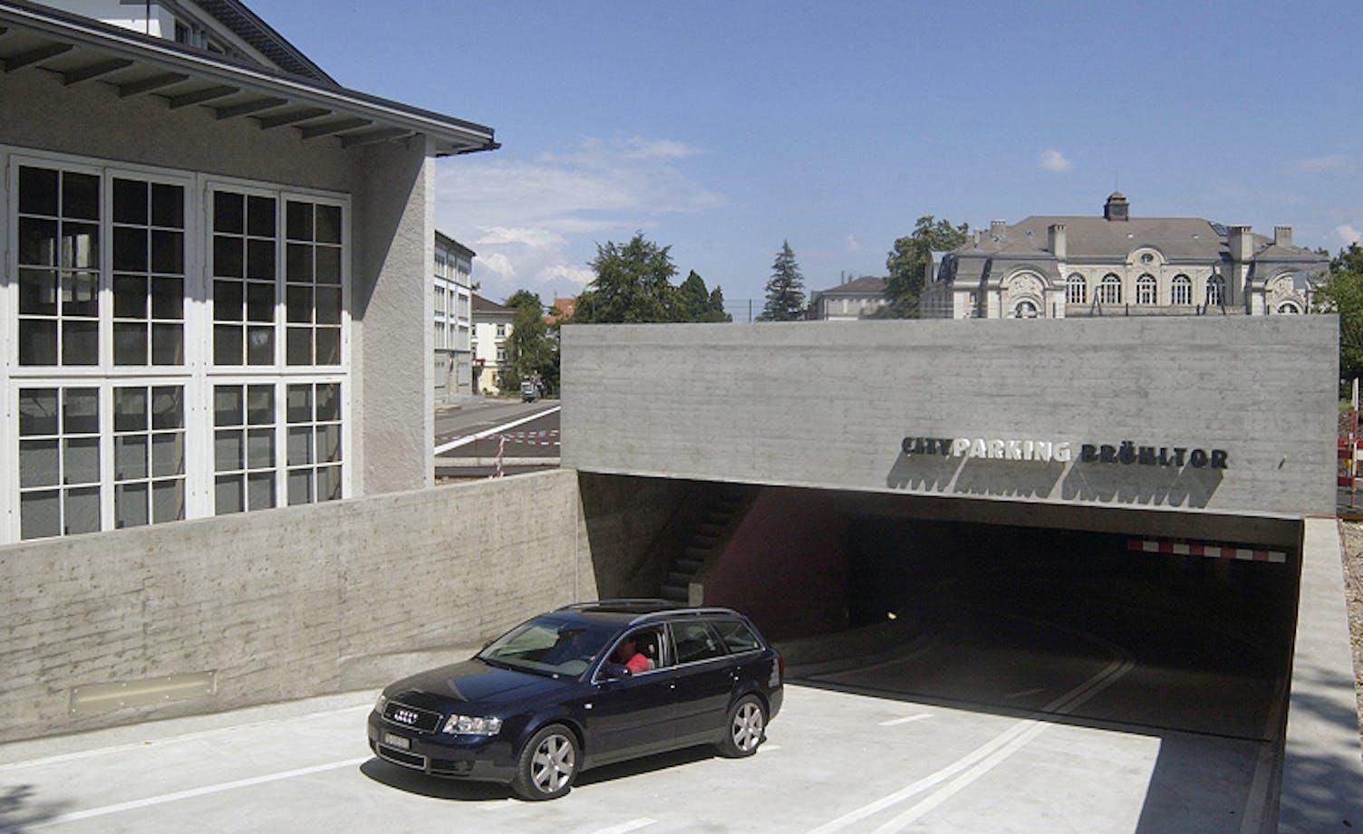 Parking Brühltor