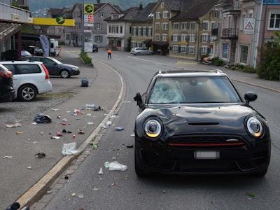 Unfall Wattwil