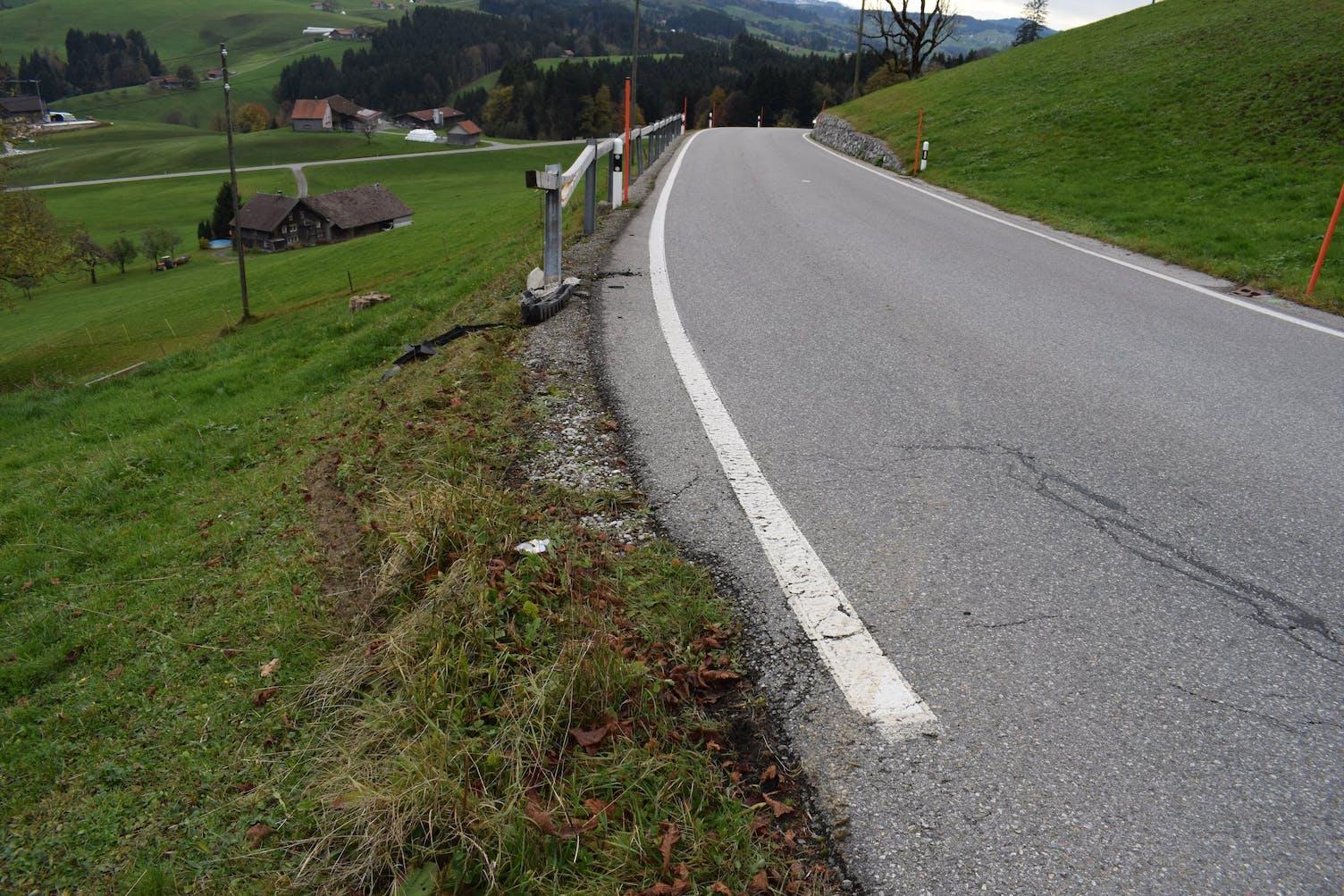 Unfall Schwellbrunn