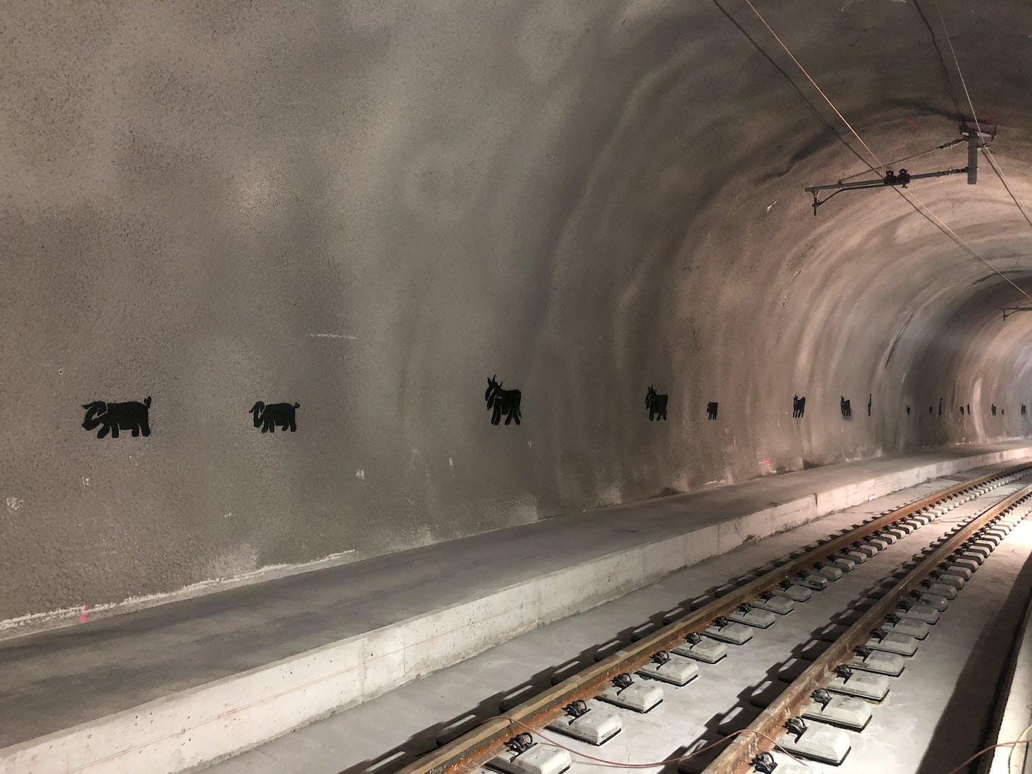 Tunnel Ruckhalde